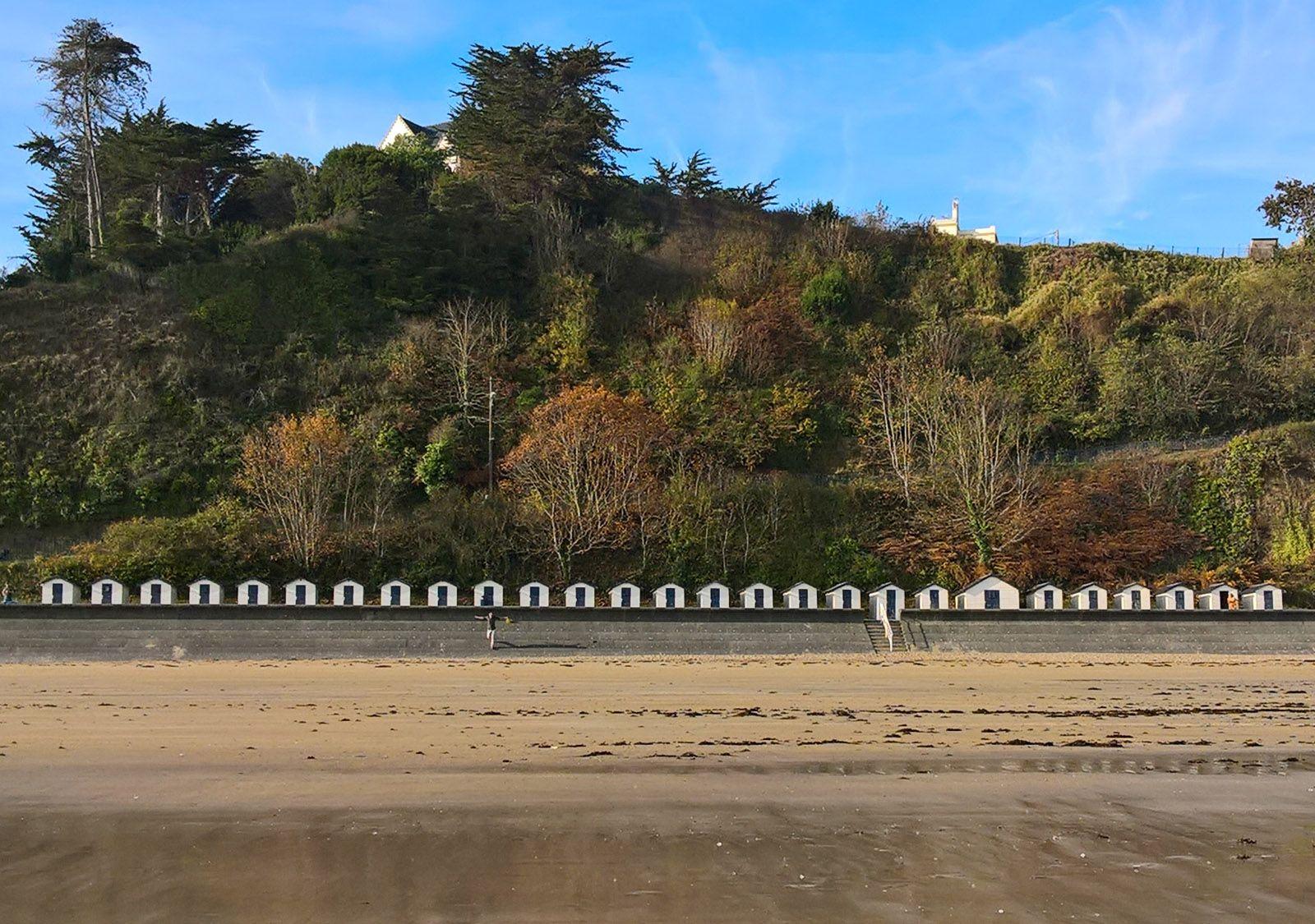 Cabines de plage des Godelins