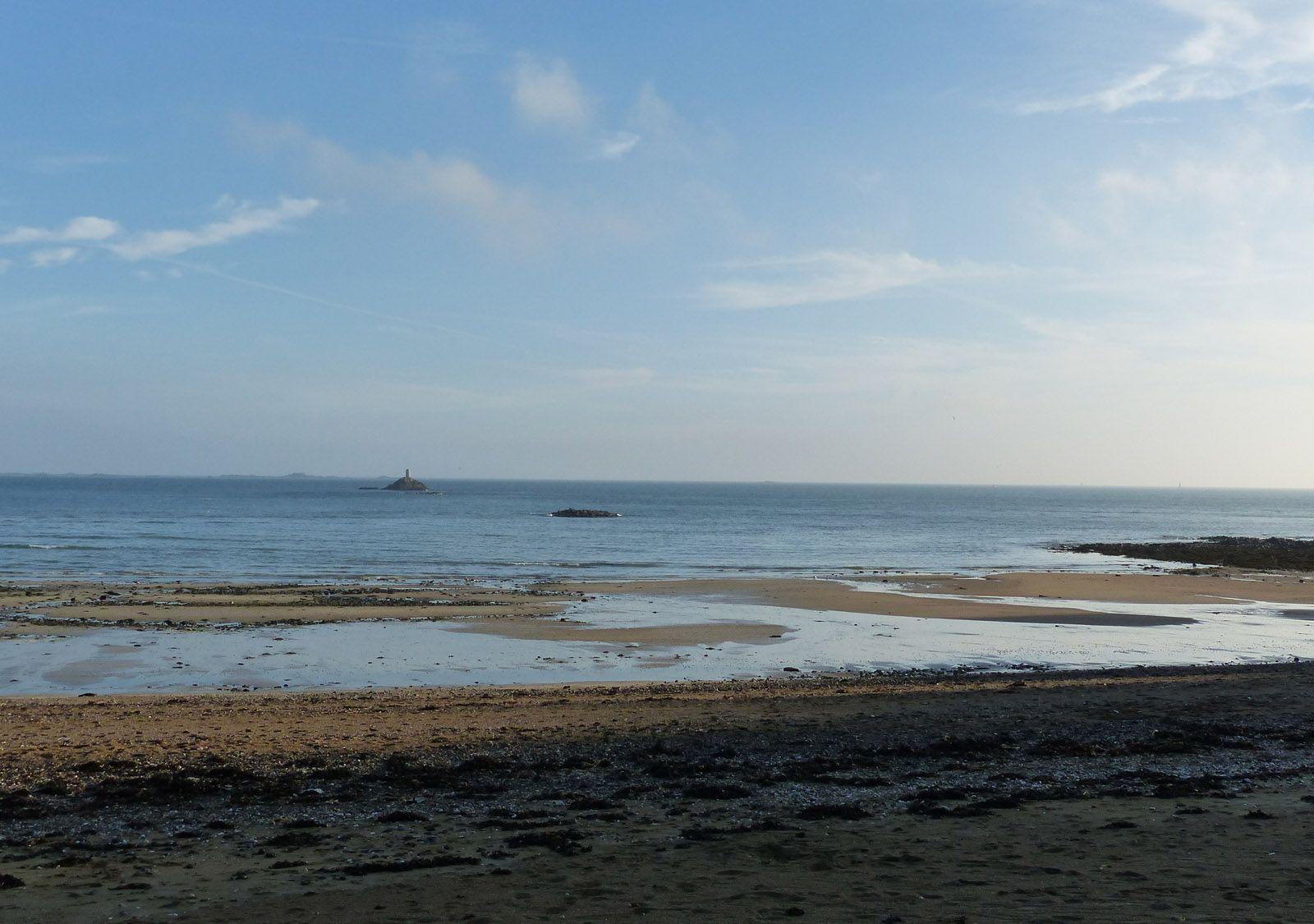 La Bougie depuis la plage du Moulin