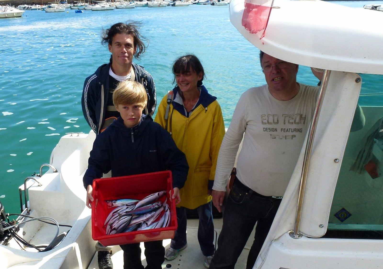 Sortie pêche en mer