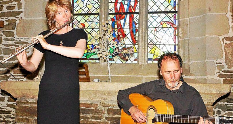 Concert : Arrin, duo flûte traversière et guitare